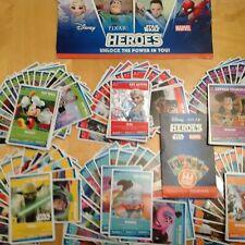 Sainsbury's Heroes Complete Set of 144 Cards Disney / Marvel / Star Wars / Pixar