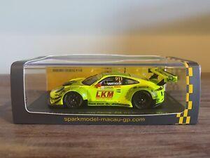 Spark 1/43 Porsche 911 GT3 R Macau 2018 Vanthoor #001/500