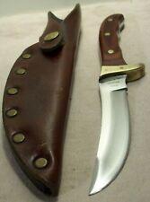 1970's~BUCK~AKONUA~DYMONDWOOD ROSEWOOD~HUNTING & FIGHTING KNIFE w/ORIG. SHEATH~