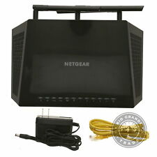 USE NETGEAR Nighthawk Smart Wi-Fi Router in Black - AC1750 Wireless Speed