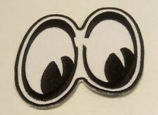 Wary Eyes Emoji Cartoon Iron On Patch Embroidery US Seller