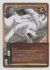 2008 Naruto Collectible Card Game: Battle of Destiny #236 Wolf Fang Over 1l2