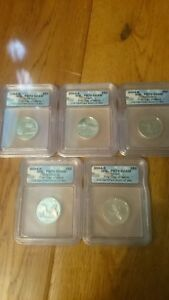 2004 S-mint State quarters 5 coin Proof set First Day of Issue #440 of 892
