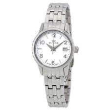 Glycine Women's 3909.11.MB Sapphire Crystal Silver Dial Swiss Made Quartz Watch