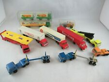 Majorette Truck Camion lot Bernard Scania etc.