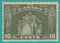 CANADA 209  MINT  HINGED OG *  NO FAULTS EXTRA FINE !