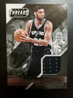 2014-15 Panini Threads Century Collection Tim Duncan Jersey! #28/99!