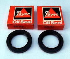 Pair of front hub oil seals Ford Anglia 105E (Payen NA579 C1037) also Cortina