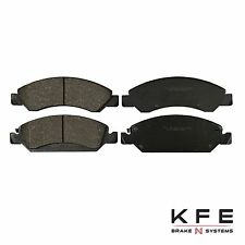 Premium Ceramic Disc Brake Pad FRONT New Set Plus Shims Fits Chevrolet  KFE1363