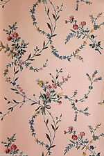 "Vintage Historic Wallpaper - ""New England Floral"" by Waterhouse Wallhangings"
