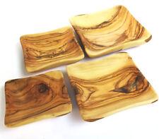 4 bowls Olive wood set Handmade made in Bethlehem Holyland