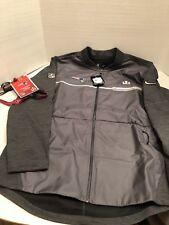 New England Patriots Super Bowl 51 LI Men's Media Nike Hybrid Full-Zip Jacket TB