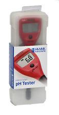 pH Meter, Hanna HI98103 Checker; pH Tester, 0.1 pH Resolution