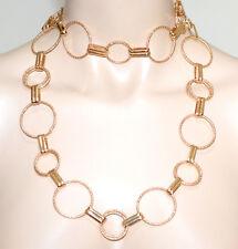 Long Collier femme or doré ceinture de bijoux ras du cou élégant cadeau fête A23