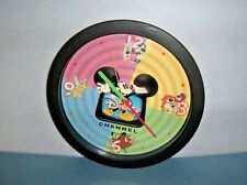 Disney Channel Wall Clock Mickey Tinkerbell And Friends Original