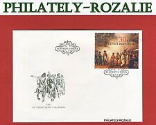 Czech Republic 2005 FDC First Day Cover 200 year of the battle of Austerlitz 435