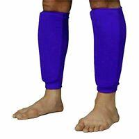pro adults leg protector Shin pad Guard Socks Sleeves Teenagers Football sports
