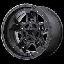 "20"" INCH KMC ROCKSTAR 3 WHEELS X4 RIMS ALLOYS 4X4 COLORADO RANGER DMAX BT-50"