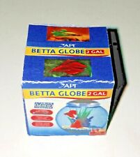 Dollhouse Miniature Betta Fish Tank Bowl Box 1:12 Animal Pet Shop Store