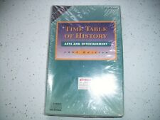 Time Table of History Arts & Entertainment 1993-1994 Edition CD Rom - Sealed
