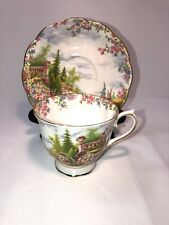 Vintage KENTISH ROCKERY Royal Albert Bone China Cup and Saucer