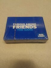 Sealed Bud Light Playing Cards Famous Among Friends brand new pack