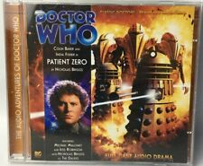 Doctor Who Patient Zero CD TWO DISC SET Full Cast Audio Drama Colin Baker