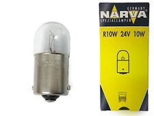 New NARVA 24V 10W Parking Bulb 67 Single Socket 17326 BA15s R10W