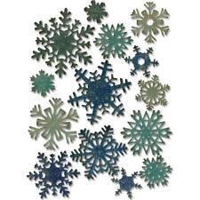 Sizzix Thinlits corte muere por Tim Holtz-Mini Papel copos de nieve 661599