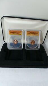 2009 D /P ANACS MS 67  Lincoln Memorial Cent Bicentennial Formative Years