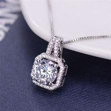 Chaîne de bijoux pendentif en cristal charme collier