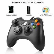Wired USB Console Gamepad Controller Joypad For Microsoft XBOX 360 PC Windows 10