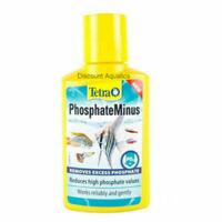TETRA PHOSPHATE MINUS AQUARIUM FISH TANK PHOSPHATE REDUCER 100ml
