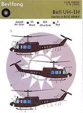 Bestfong Decals 1/72 BELL UH-1H HUEY Republic of China Army