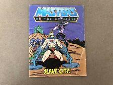 Vintage Retro Amos del Universo (Amos del universo) Mini Comic Ciudad De Esclavos