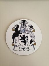 Your Family Crest On A Coaster - New - Handmade - Great Gift - Set of 4