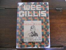 WEE GILLIS, Munro Leaf, Robert Lawson, 1st ed/1st edition printing 1938, HCDJ