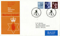 18 JANUARY 1978 ALL 3 N IRELAND DEFINITIVE VALUES PO FIRST DAY COVER BUREAU SHS