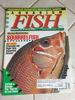 Aquarium Fish International Magazine December 1997 Squirrelfish !!