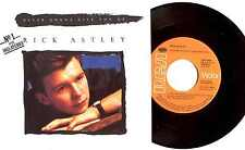 "7"" - RICK ASTLEY - NEVER GONNA GIVE YOU UP ((DISCO) SPANISH PRESS. NEW LISTEN"