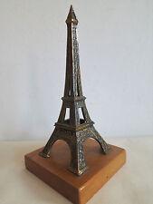 EIFELTURM_PARIS_Miniatur_Metall_Vitrinen Objekt_19 cm