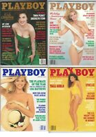 Lot of 14 Playboy Magazines, 1991-95, all with Centerfolds +1989 Special