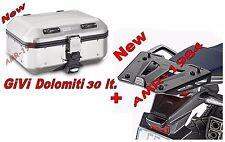GIVI BAULE TREKKER DOLOMITI DLM30 .+ 1111FZ + M8B HONDA NC700 750 X  2014-2015