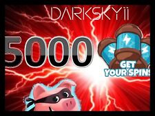 5000 Spins ( Coin Master Spins ) Fastest Delivery