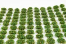 WWS Spring Static Grass Tufts 100 4MM - Wargames Battleboards Scenery Model