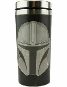 Star Wars The Mandalorian Travel Mug, Stainless Steel, 450 milliliters