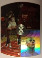 Michael Jordan 1998 98 Upper Deck SPX #6, Rare Red Foil SP Holoview Insert