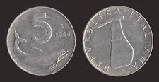 5 LIRE 1968 DELFINO E TIMONE - ITALIA