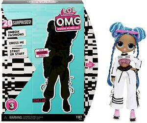 NEW - LOL Surprise OMG Chillax Fashion Doll Series 3 with 20 Surprises