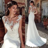 Spitze Mermaid Brautkleid Hochzeitskleid Kleid Braut Babycat collection BC851